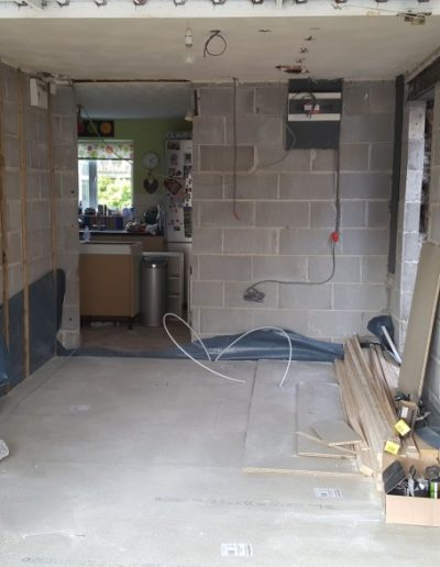 Garage-Conversion-Manchester-Chadderton-Floor-Boarded