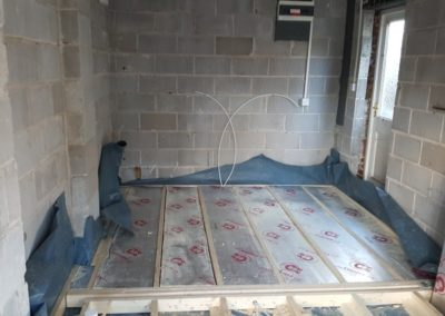 Garage-Conversion-Manchester-Chadderton-Insulated-Floor