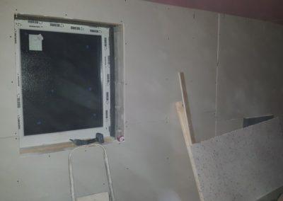 Garage-Conversion-Manchester-Chadderton-Plasterboarding