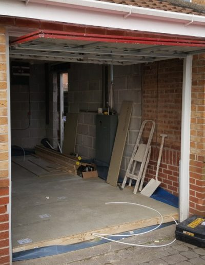 Garage-Conversion-Manchester-Chadderton-Pre-Brick-Up