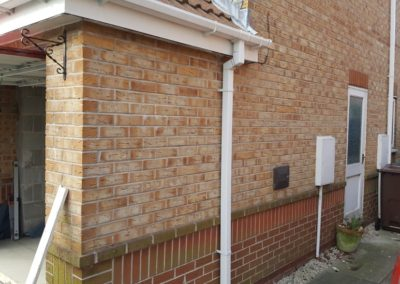 Garage-Conversion-Manchester-Chadderton-Pre-Side-Door-Removal