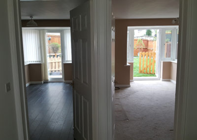 Extension in Manchester both rooms